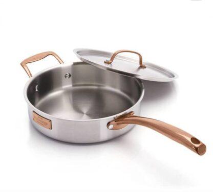 # Fleischer and Wolf London Tri-Ply 12-Piece Cookware Set
