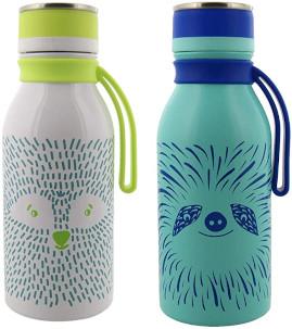 reduce Stainless Steel Hydro Pro Kids Water Bottle, 14oz - Vacuum Insulated Leak Proof Water Bottle for Kids
