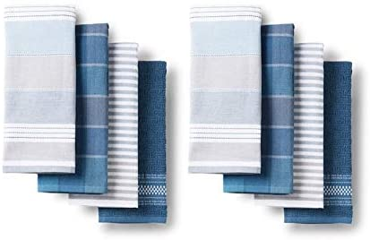 # Bistro Town & Country Kitchen Towels 8 Pack