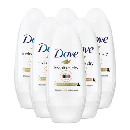 # Dove Invisible Dry Roll-on Antiperspirant Deodorant (Pack of 6)