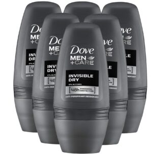 Dove Roll On Men Invisible Dry 50ml (Pack of 6)