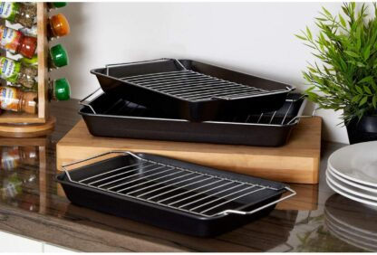 Cookhouse 3 Roasting Trays with Racks