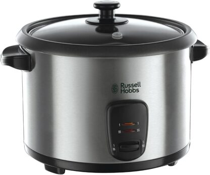 Russell Hobbs 19750 Rice Cooker and Steamer - 1.8 Litre, Silver