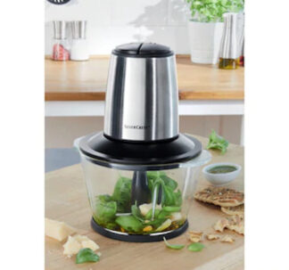 Silvercrest Mini Chopper with High-Quality Glass Container