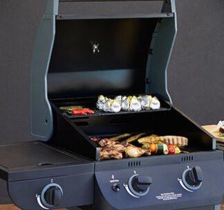Texas Nimbus 2 burner gas BBQ Grill