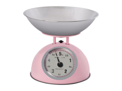 # Ernesto Traditional Kitchen Scales - Glossy Pink