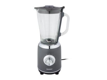 Silvercrest 1.75L Blender 600W 5 Speeds + Pulse Function Glass Jug - Gre