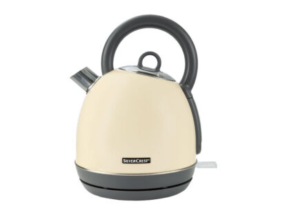 Silvercrest 1.8L Kettle with Enamel on High Quality Stainless Steel Construction