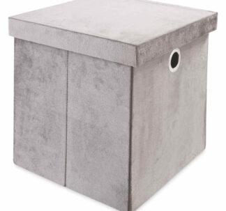 # Kirkton House Storage Cube - Charcoal Grey