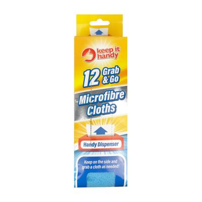 Keep it Handy Grab & Go Microfibre Cloths 12pk