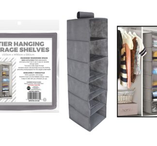 # RSW Hanging Storage with 6 Shelves