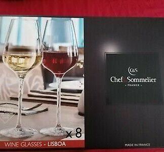 Chef & Sommelier Lisboa Wine Glasses - 8 Pcs