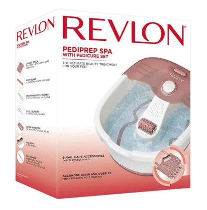 Revlon Pediprep Foot Spa & Pedicure Set