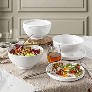Over & Back Best Match 6-Piece Bowl and Plate/Lid Set