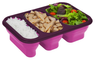 Portion Perfect Collapsible Meal Set
