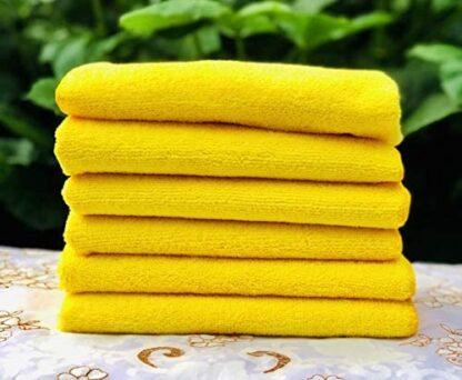 Kirkland Signature Ultra Plush Microfiber Towels, 36 Count (Pack of 1), Yellow