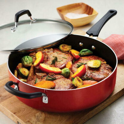 Tramontina 5.5 Quart Jumbo Cooker Nonstick Deep Saute Pan