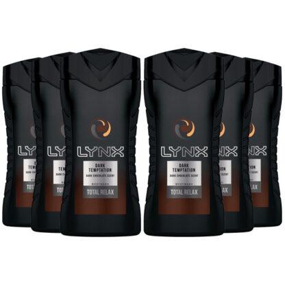 Lynx Dark Temptation Body Wash - Total Relax - 250ml