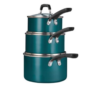 Tramontina 6-Piece Stackable Nonstick Sauce Pan Set