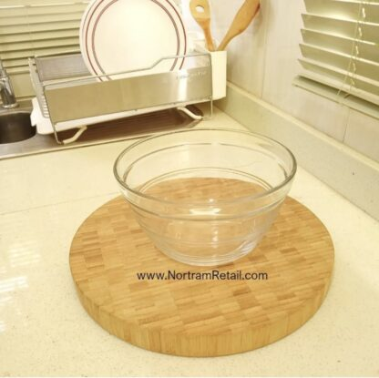 5 Glass Bowl Set with tight lids.