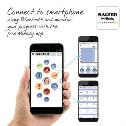 Salter Bluetooth Body Analyser Scales