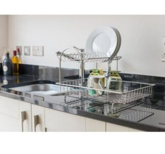 Addis 2 -Tier Dish Draining Rack- Stainless Steel