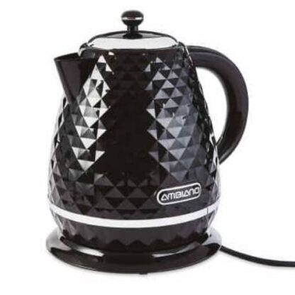 Ambiano Rapid Boil Textured Kettle- Black