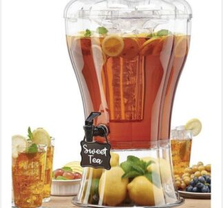 Buddeez Unbreakable 13.2 Litres Beverage Dispenser with Removable Ice-Cone