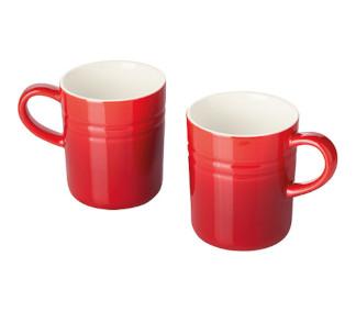 Ernesto Porcelain Mug Set 2 pack - Assorted Colours