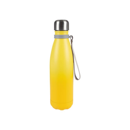 Ernesto Double Walled Insulated Flask, 500ml - Hot/Cold Up to 6hrs - Yellow