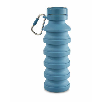 Collapsible Bottle, Extended: 475ml, Collapsed: 225ml (approx.) - Blue