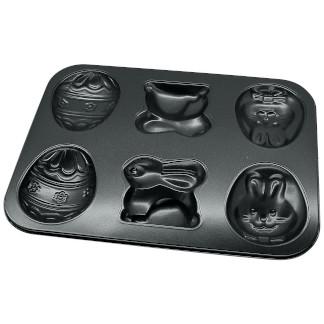 Zenker Easter Baking Tray Bunny/Egg Design - 35 x 27 cm