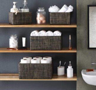 Mesa Set of 4 Nesting Storage Baskets
