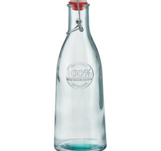 Al Fresco Dining Glass Bottle for Homemade Drinks - 1 Litre