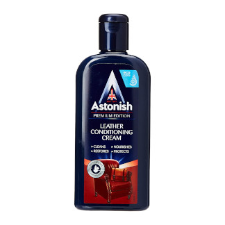 Astonish Specialist Leather Conditioning Cream. Protects from Drying and Cracking - 250 ml