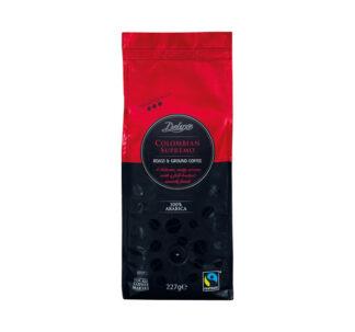 Deluxe Colombian Supremo Roast & Ground Coffee 100% Arabica - 227g