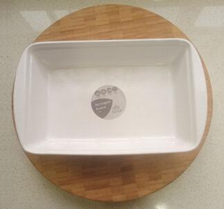 Morrisons Ceramic Rectangular Roaster - 25 cm
