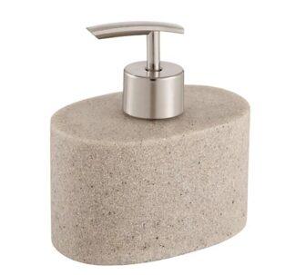 Cooke & Lewis Jubba Mastic Stone effect Soap dispenser