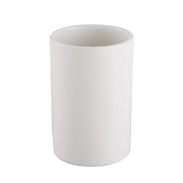 Cooke & Lewis Diani White Ceramic Tumbler