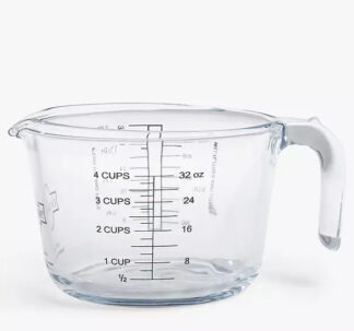 O'Cuisine Measuring Jug 1 Litre Borosilicate Glass