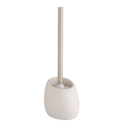 Cooke & Lewis Padma White Toilet brush & holder
