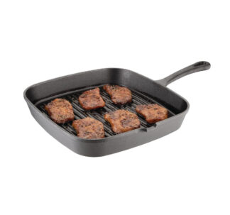 Hairy Bikers World Cast Iron Skillet Ribbed - 23 cm