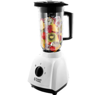 Russell Hobbs 24610 Plastic Jug Blender, 1.5 Litre Capacity and Two Speed Settings, 400 W