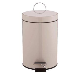 Cooke & Lewis Diani Pebble Stainless Steel Pedal Bin - 3L
