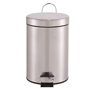Cooke & Lewis Diani Stainless Steel Pedal Bin - 3L